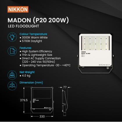 NIKKON MADON Floodlight