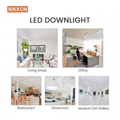NIKKON 3 INCH LED DOWNLIGHT 6W 3000K (Warm White) & 6500K (Daylight)-K01108