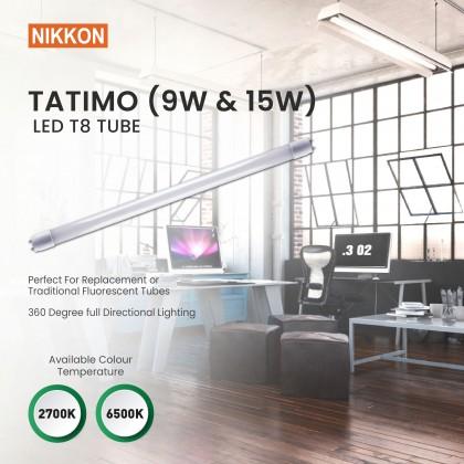Nikkon LED T8 Tube - TATIMO Series (MOQ 10 Pcs) - SELF COLLECTION