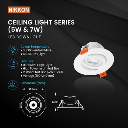 Nikkon Ceiling Light Downlight series