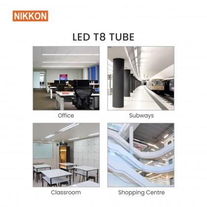 Bundle Deal : 15W/28W  Nikkon LED T8 Tube - TATIMO Series (10 unit) + Massa Floodlight (1 unit) !!SELF PICKUP ONLY!!