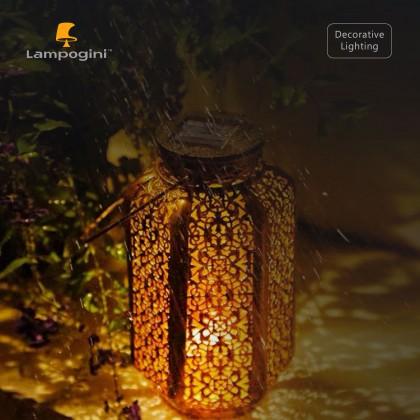 Six Facet Solar Garden Lantern