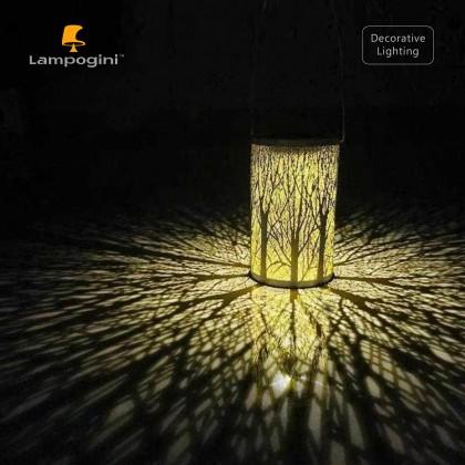 Light & Shadow Solar Garden Lantern
