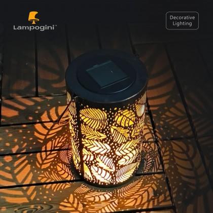 Leafy Forest Solar Garden Lantern