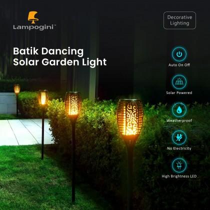 Batik Dancing Solar Garden Light