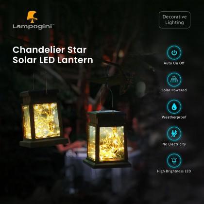 Chandelier Star Solar Lantern